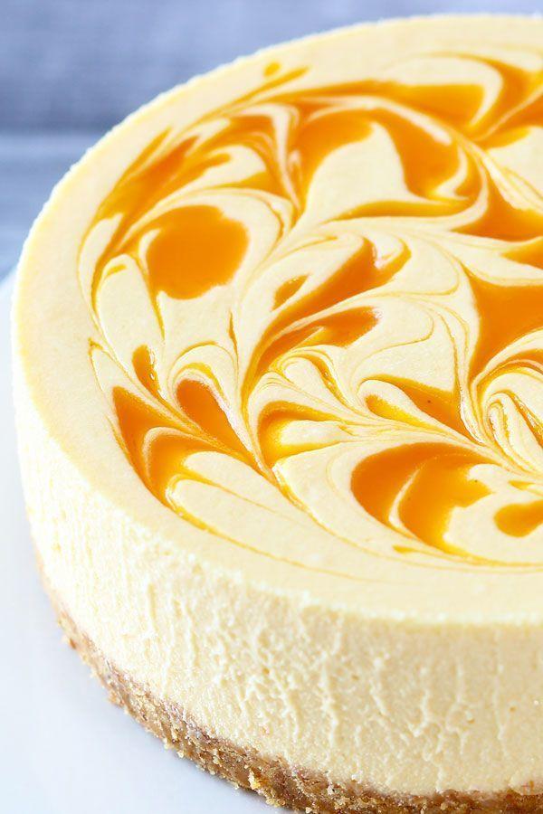 No Bake Mango Cheesecake Rezept In 2020 Dessert Kuchen Coole Desserts