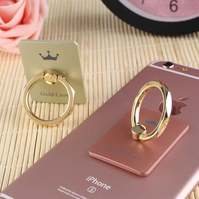 Best Buy Ipad Stand With Cute Rocketfish Acessories Design: Find More Holders & Stands Information About Luxury One Finger Ring Holder Gold/Pink Crown