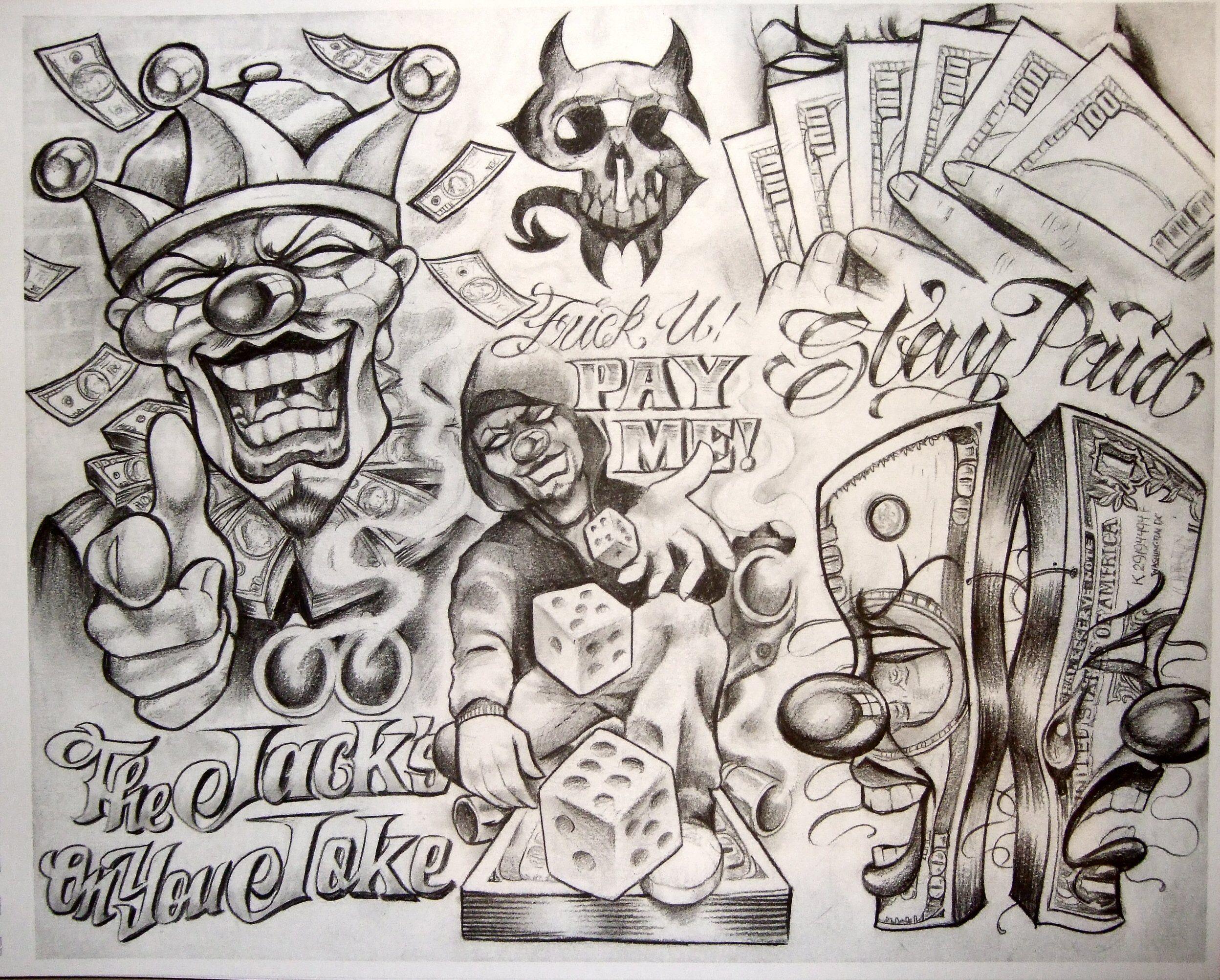 Boog Tattoo Nails Art Art Tattoo Tattoo Flash Chicano Art Scripts Art Tattoo Art Boog Stars Boog Tattoo Chicano Art Tattoos Money Tattoo