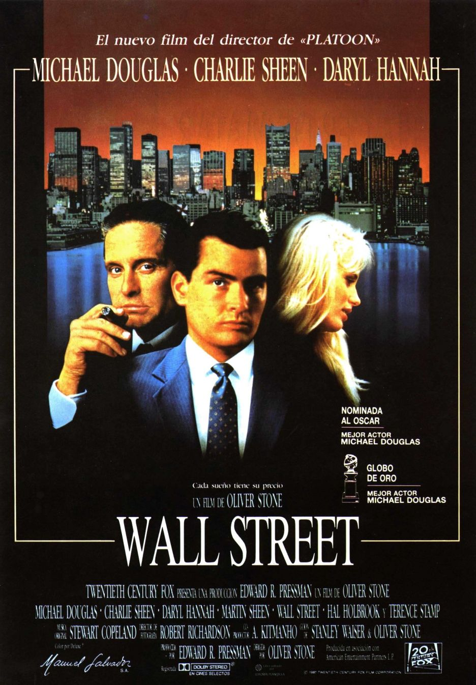 Wall Street 1987 Way Better Than The New One Con Imagenes