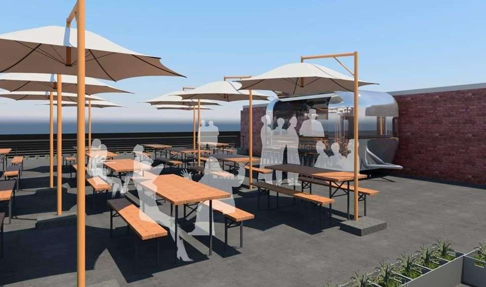 A Massive New Restaurant With Multiple Patios A Rooftop Raw Bar Is