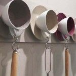 cup and saucer kitchen hanger