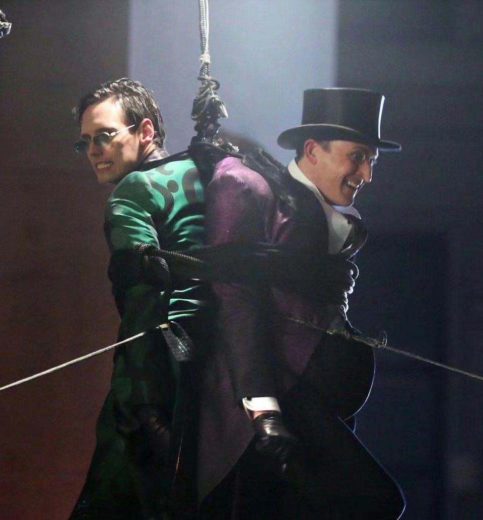 Pin by Grace Villa on Penguin x Riddler Gotham cast