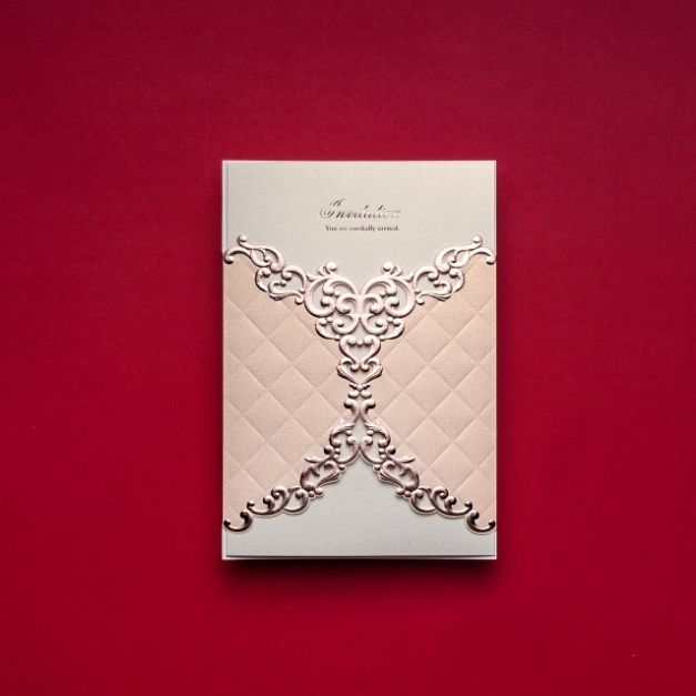 Meghívó $40 50 Fannika+Peti Pinterest Laser cut wedding - invitation non formal