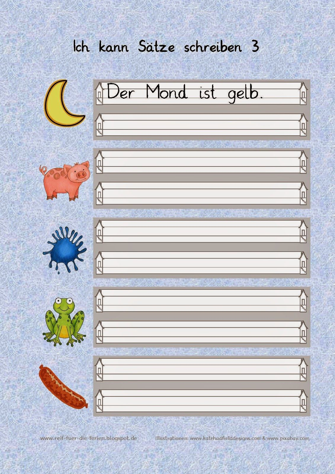 ich kann s tze schreiben erziehung und bildung deutsche schule schreiben arbeitsblatt und. Black Bedroom Furniture Sets. Home Design Ideas