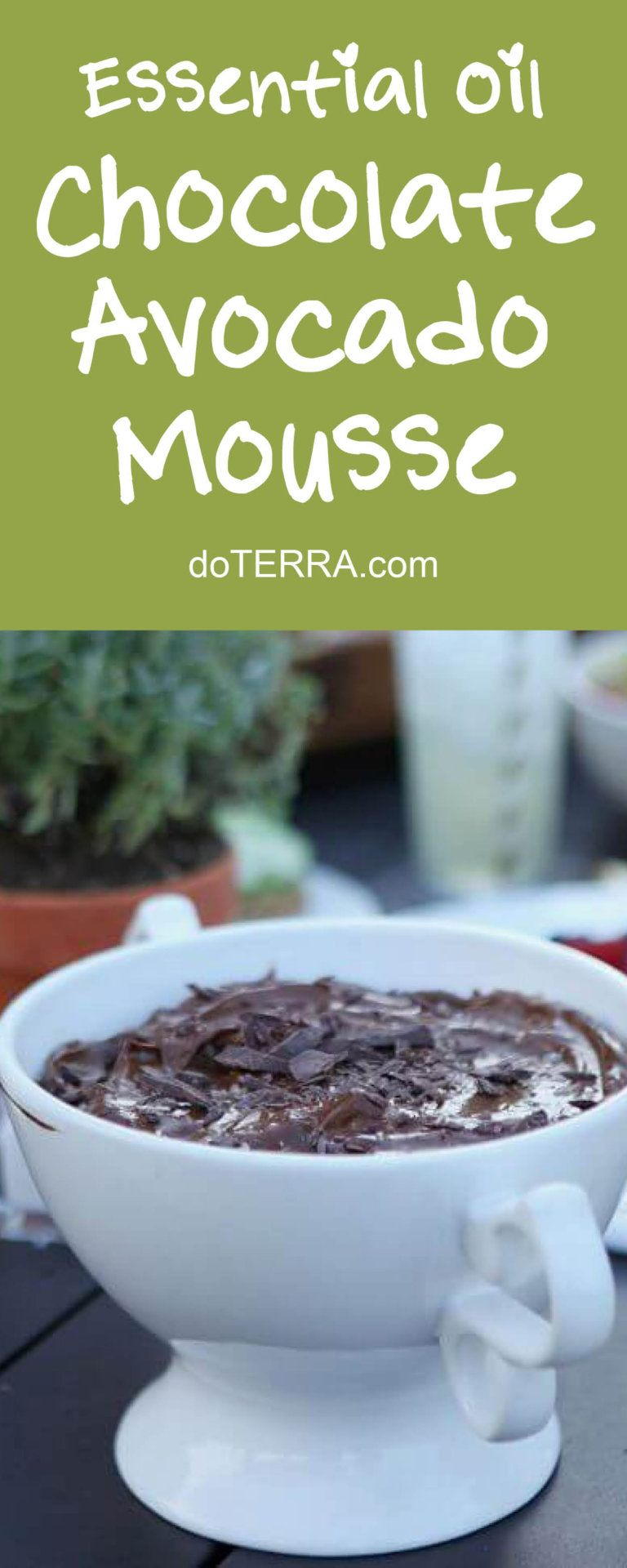 The 50 best doterra dessert recipes could never be easier doterra doterra chocolate avocado mousse with peppermint essential oil recipe forumfinder Gallery