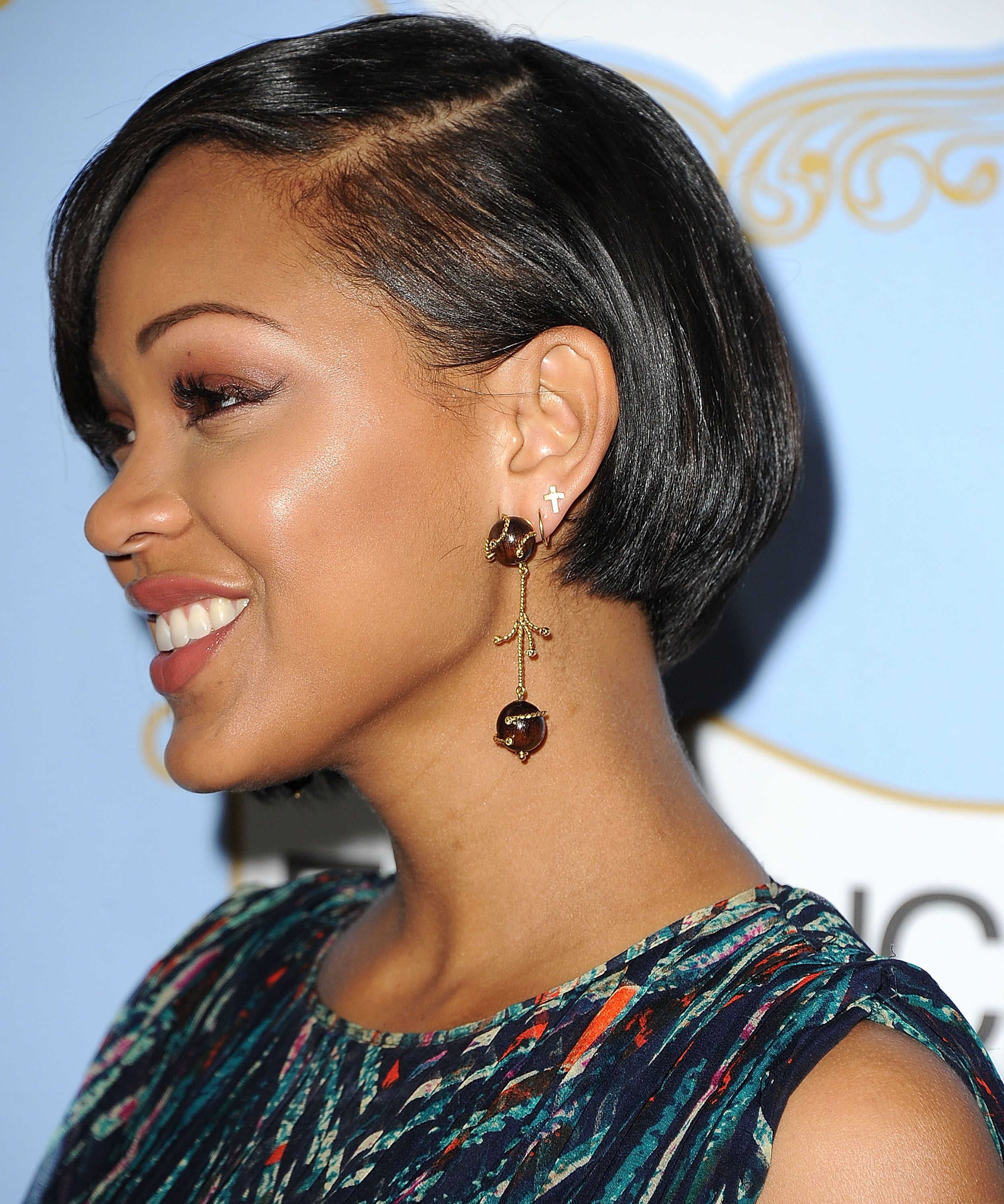 Megan good star of deception wears sazingg in hollywood sazingg hair makeup baditri Images