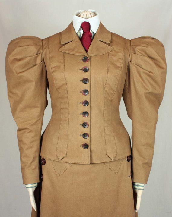 Edwardian Jacket 1895 Sewing Pattern #0715 Size US 8-30 (EU 34-56 ...