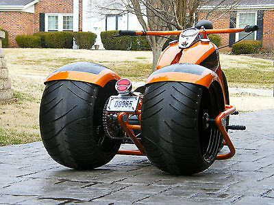 Details about 2019 Custom Built Motorcycles Bobber Trike