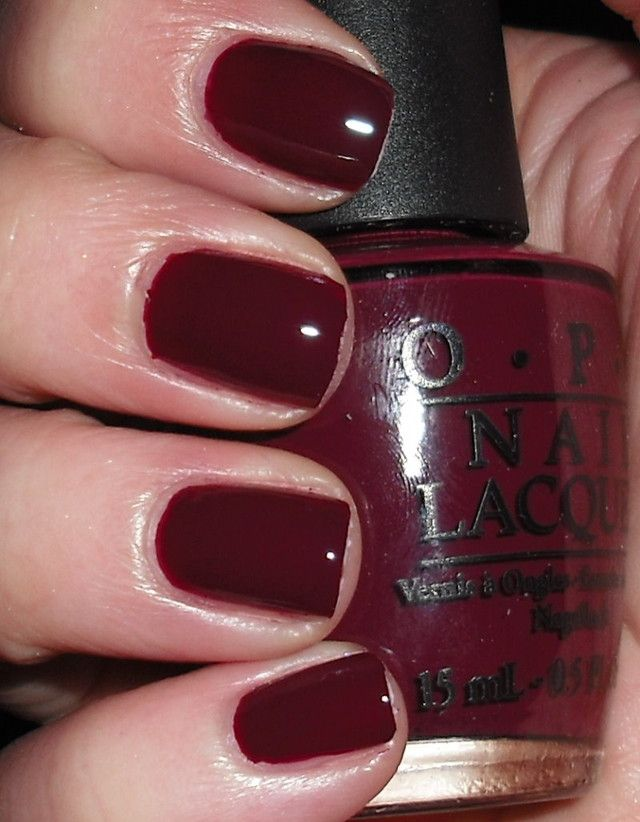 Mrs. O Leary\'s BBQ OPI Nail Polish | Nail Art | Pinterest | Opi ...