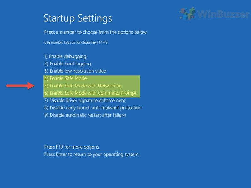 When Windows 10 Crashes Hangs Or Does Not Boot Safe Mode Might Help You Solve The Problem We Show You Three Ways To Boot Win Start Up Blue Screen Windows 10