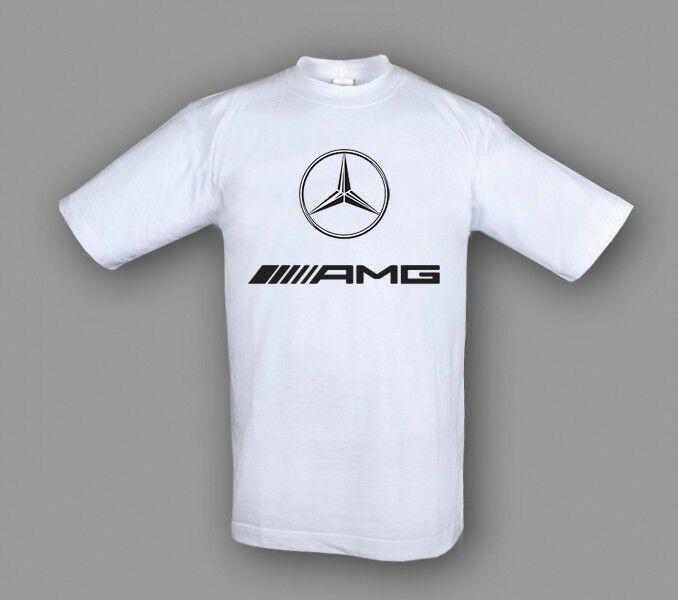 BMW AC Schnitzer DTG Printed Herren Artikel Bedruckt Bekleidung T-shirt Weiß