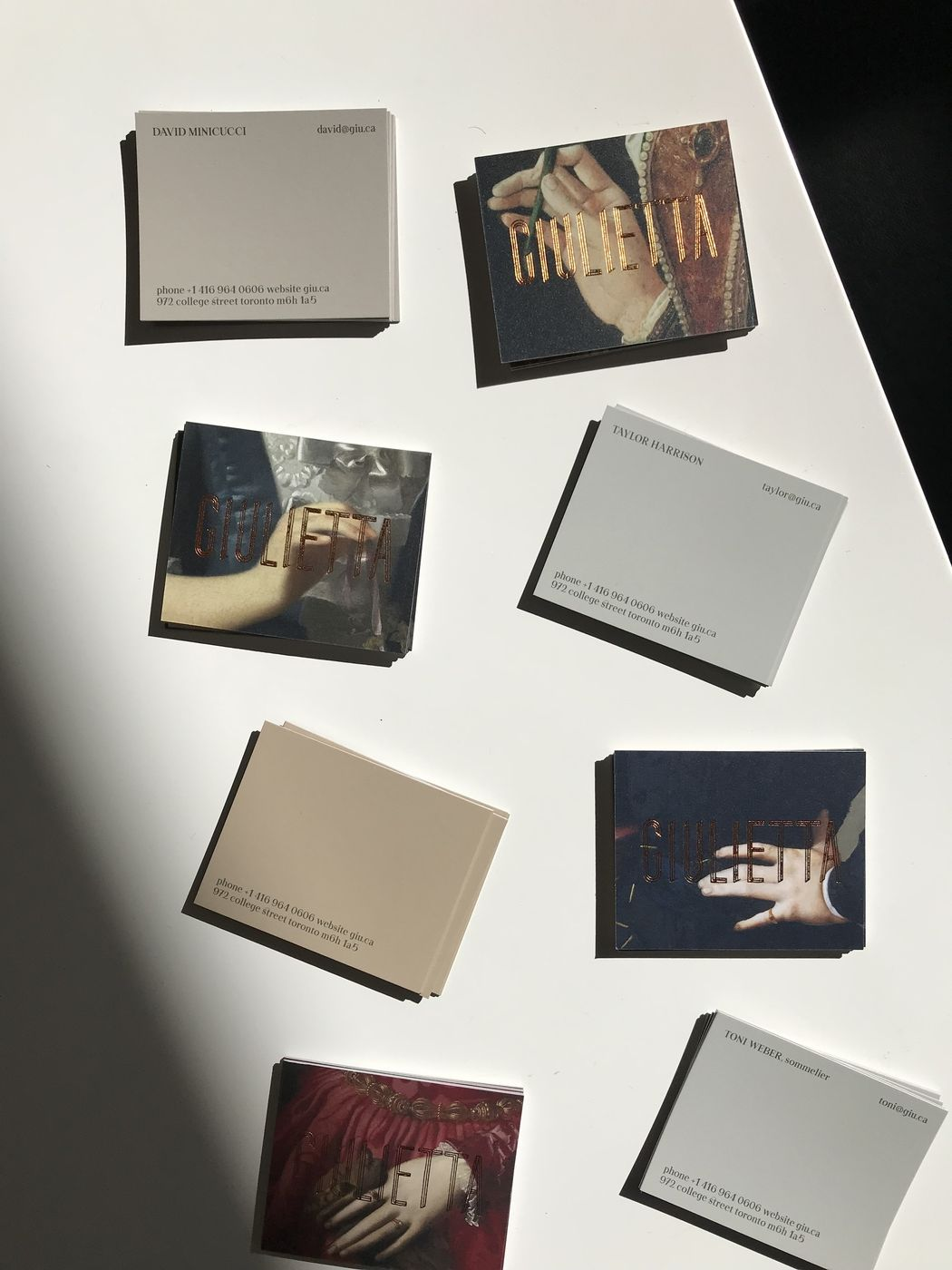Sophisticated business cards with gold foil layout pinterest sophisticated business cards with gold foil colourmoves