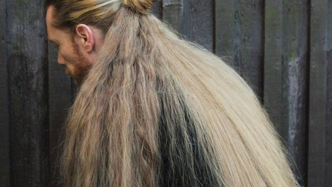 طريقة لتطويل الشعر Long Hair Styles Long Hair Styles Men Hair Facts