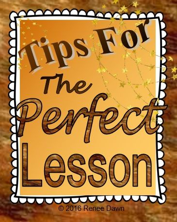 the perfect lesson plan teacher evaluation guide renee