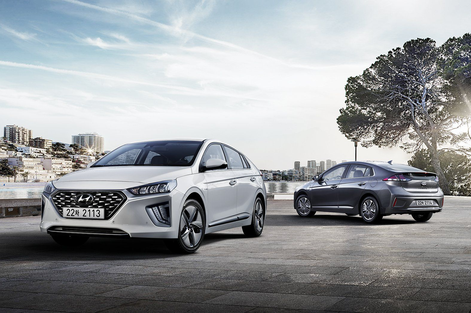 2020 Hyundai Ioniq Facelift Debuts With Styling And Tech Updates Voiture Hybride Modes Voiture