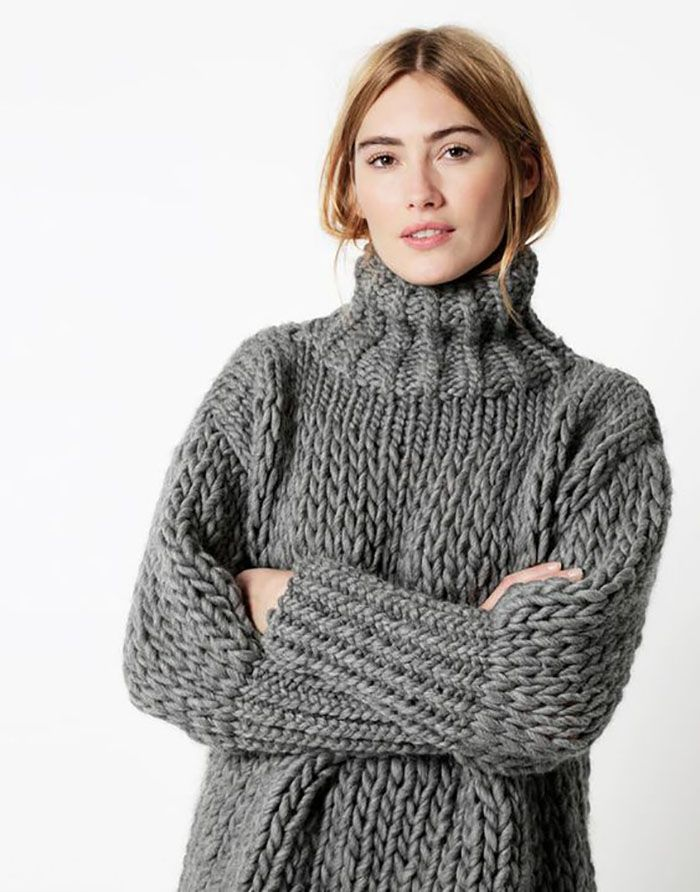Sweater Weather 12 Best Chunky Knit Sweater Patterns Weather