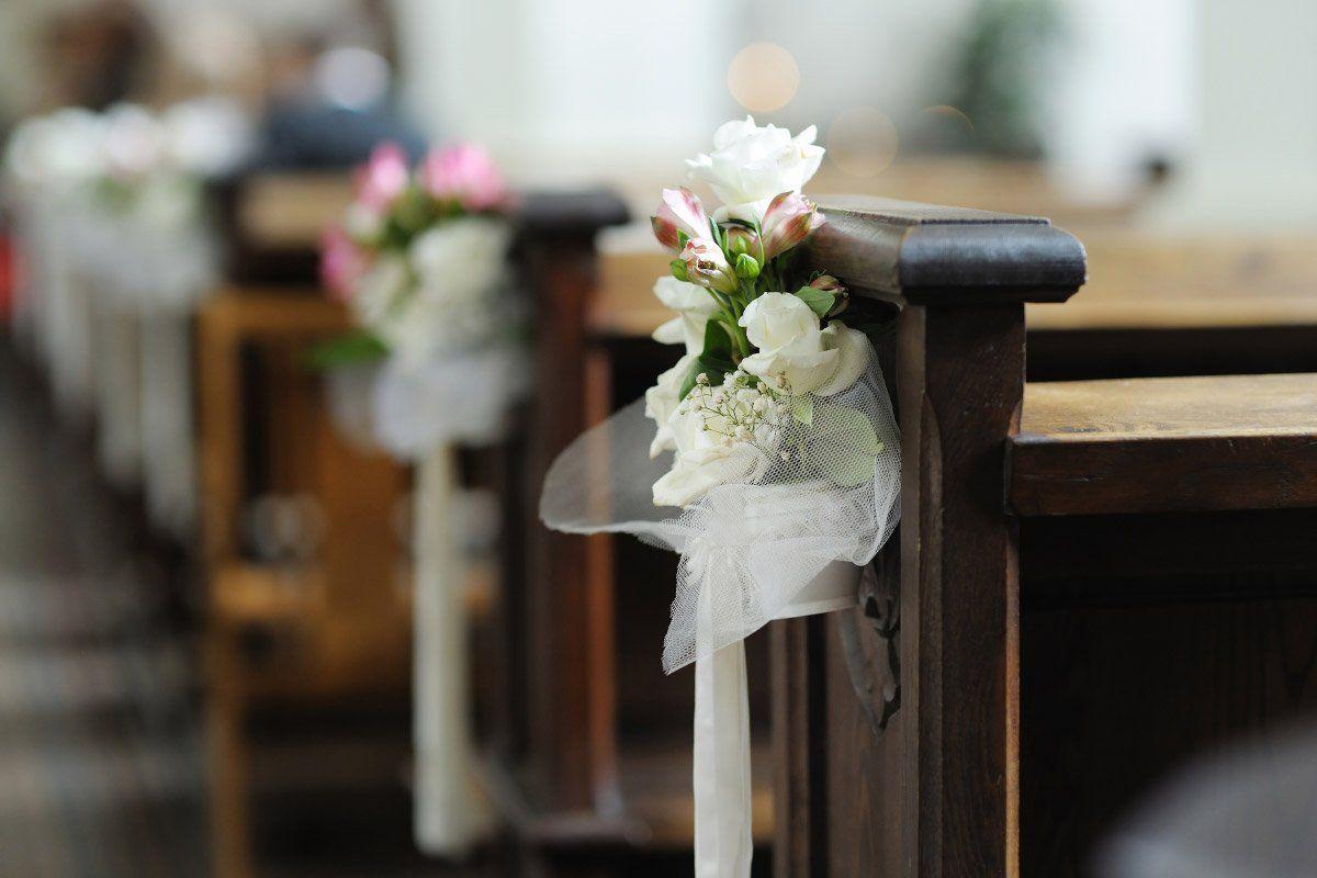 Kirchenbank Deko Tolle Ideen Beispiele Hochzeit