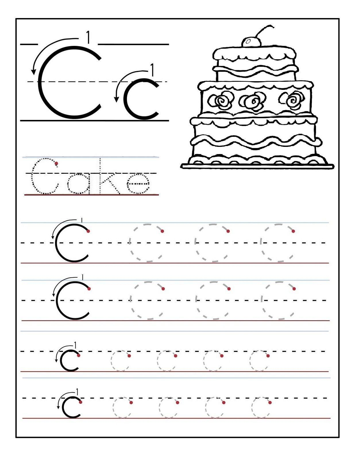 Practice Letter A Worksheets In
