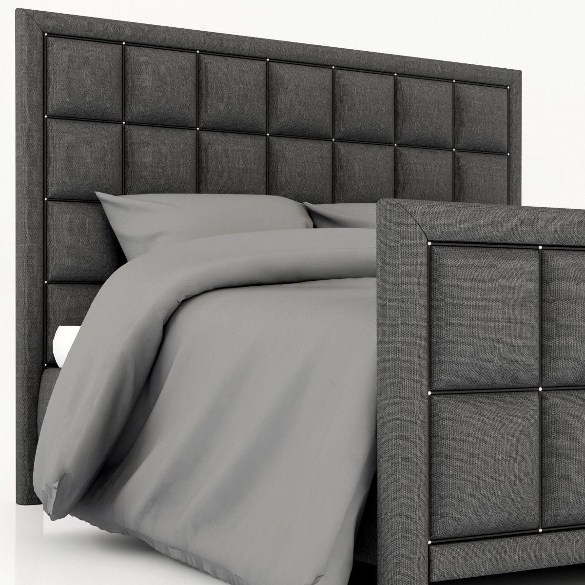 Roybosh Morrisa Krovat 3d Model Bed Back Design Bed Headboard Design Bedroom Bed Design