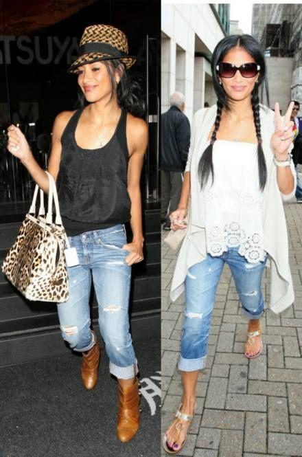 2c427d1ff37 Ex Boyfriend, Nicole Scherzinger, Sexy Jeans, Adriano Goldschmied, Cropped  Jeans, Different