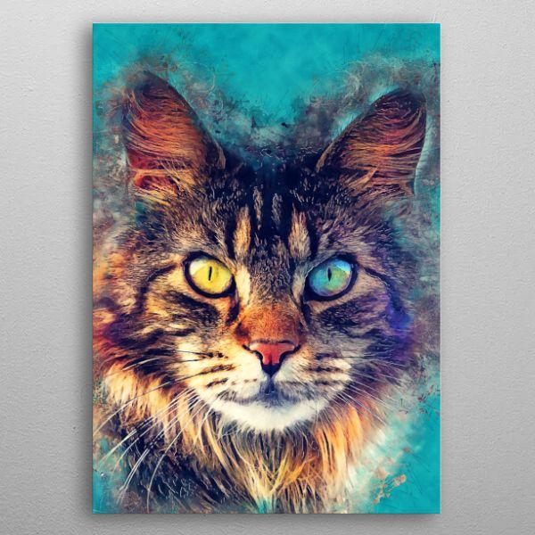 Cat And Art