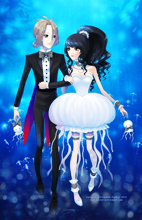 Kuranosuke Jellyfish Dress