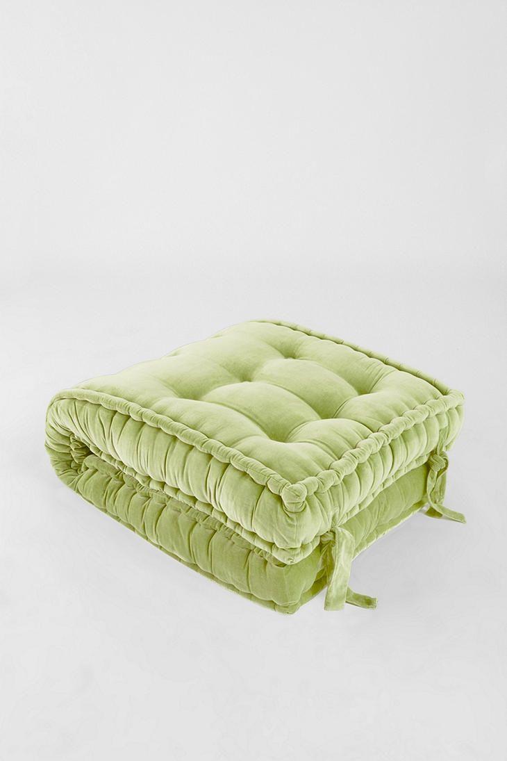 solid velvet floor cushion $129 | in every dream home | Pinterest ...
