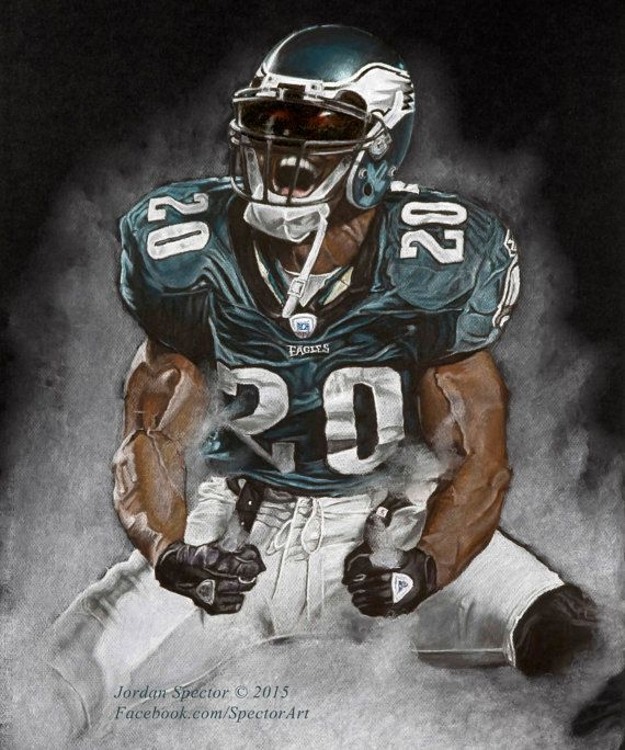 Philadelphia Eagles - Brian Dawkins Art Print - Weapon X - Wall Art- Man  Cave Art - Eagles Decor - dorm decor - Eagles Gifts - Gift Idea bfc9f0e80