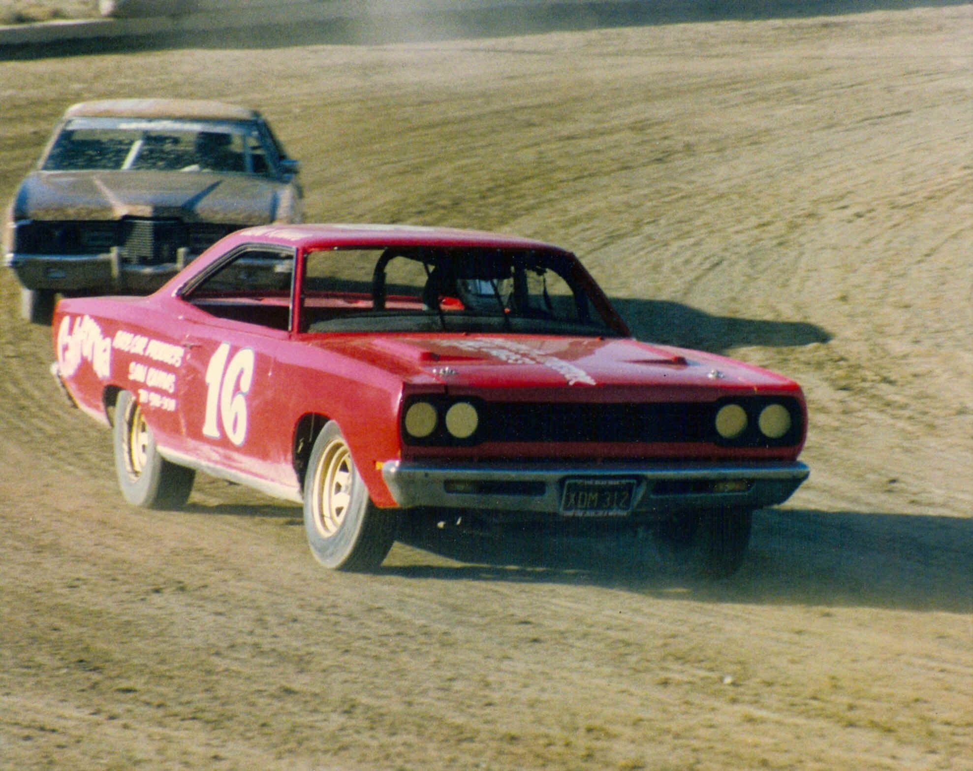 Driven stock car racing (and the cars literally look like this one ...
