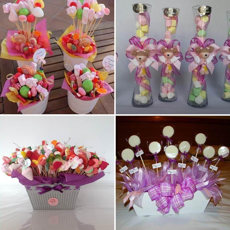20 ideas de adornos para primera comuni 243 n hechos en casa arreglos de dulces primera comunion 4 tile frascos