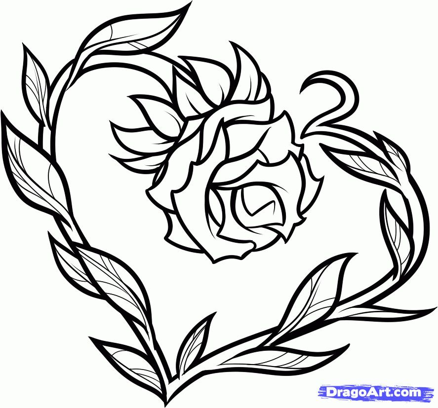 How To Draw Tattoo Love Cute Drawings Of Love Cool Heart Drawings Drawings For Him