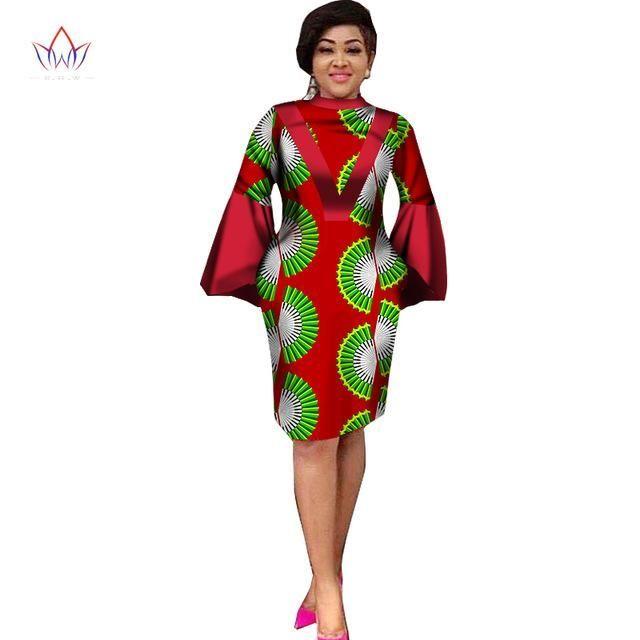 385221a540e Women Ankara Dashiki traditional African clothing PLUS SIZE M-6XL – Owame