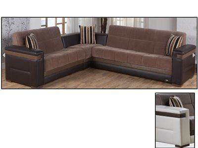 Moon Sectional Convertible Sofa Bed by Istikbal | Urban Futons ...