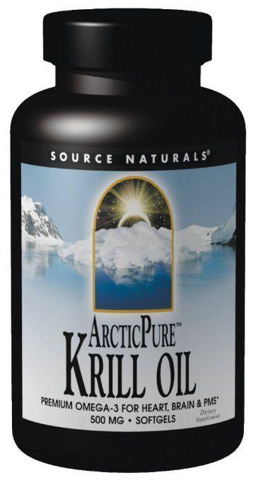Source Naturals ArcticPure Krill Oil 1000mg, 30 Softgels