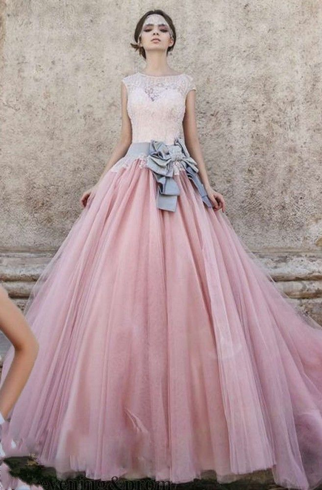 Spring New Arrival Long Pink Prom Dresses Ball Gowns For Women Party ...