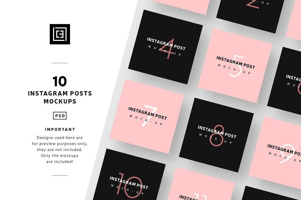 37 Instagram Mockup Psd Free Template Updated 2020 Graphic Cloud Instagram Mockup Instagram Post Template Instagram Posts