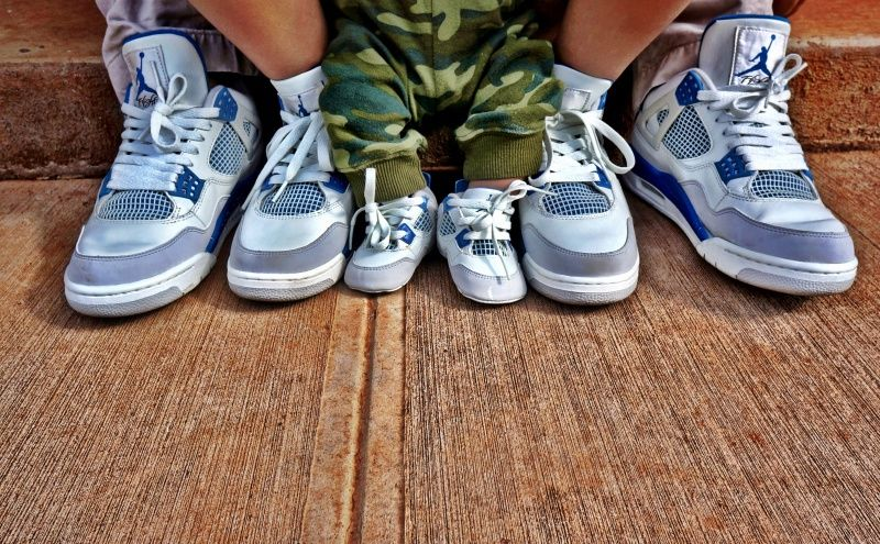 promo code 0e0ad 65507 Matching family jordans ! So cute cant wait to do this