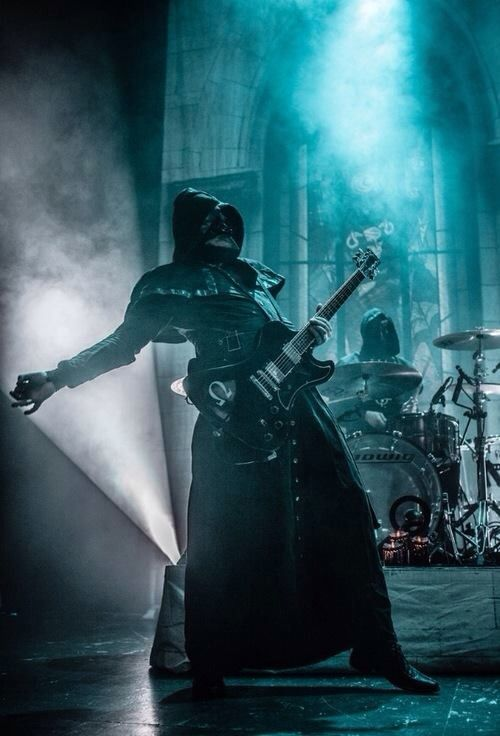 FAVORITE CONCERT: Ghost, an occult rock band from Sweden (Photo by Lene J. Løkkhaug)