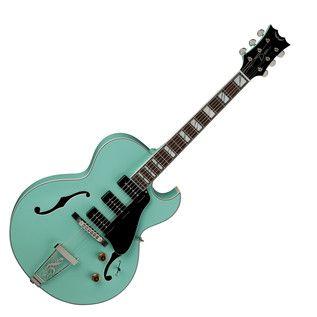 Dean Palomino Hollowbody Gitaar Zee Groen Op Gear4music Com Guitar Palomino Dean Guitars