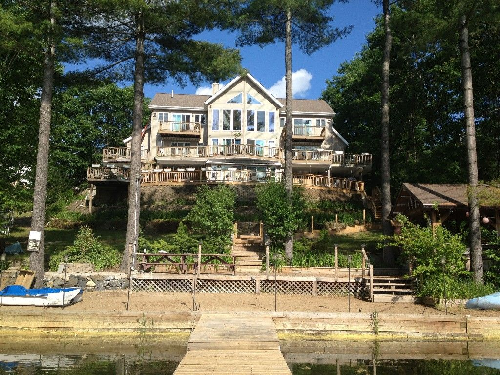 Pin By Coastal Blue On Lake House Lake House Rentals Vacation Home Rentals Private Beach Vacation