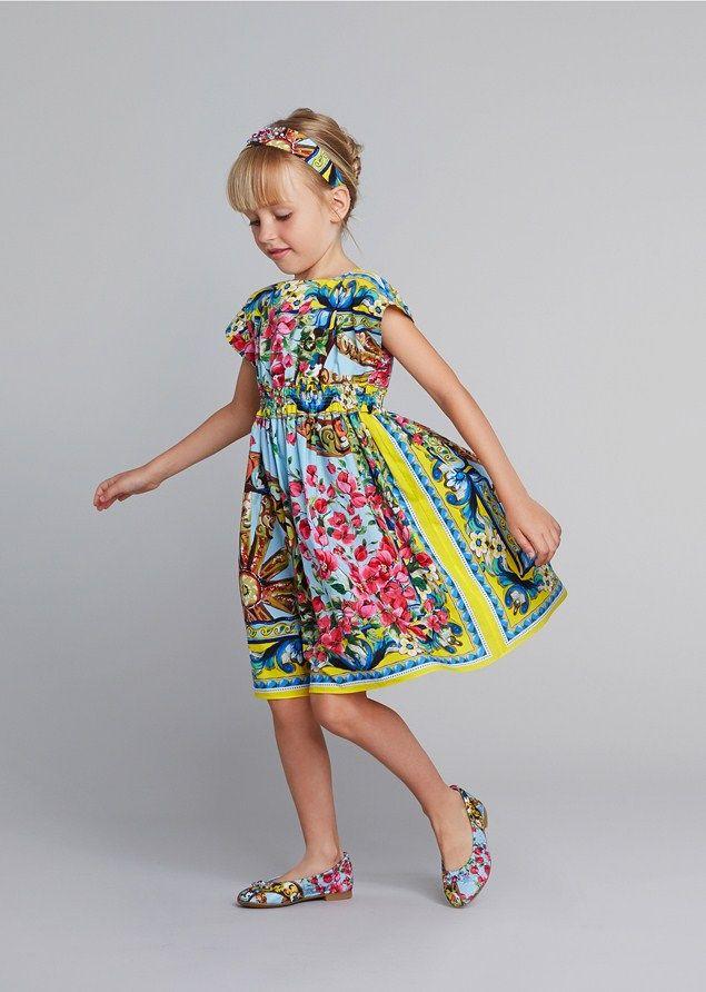 Dolce & Gabbana girlswear spring summer 2014: Junior\'s Top Picks ...