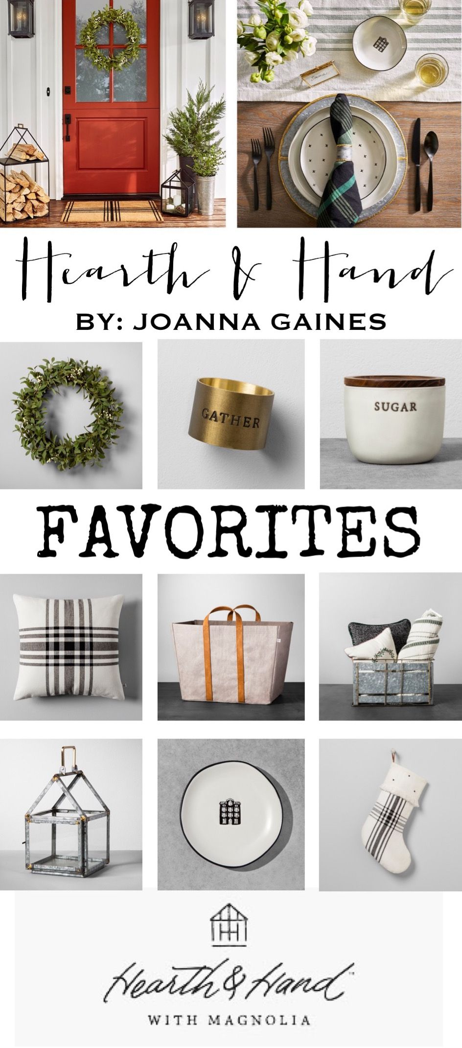 Hearth And Hand Favorites New Home Decor Line By Joanna Gaines At