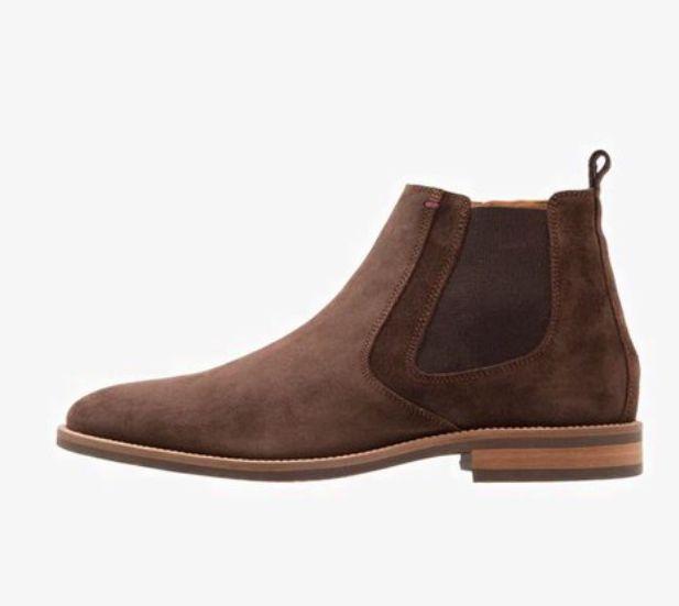 e324942e6 Tommy Hilfiger Daytona Chelsea boot brown suède