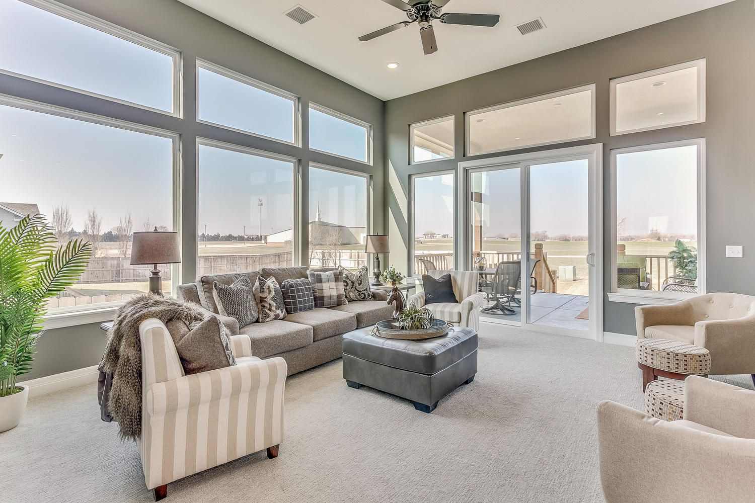 FLEX plan layout with extra large family room by Robl ...