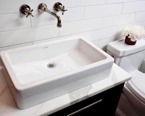 Ideas Breathtaking Bathroom Vanity Backsplash Ideas Using Subway