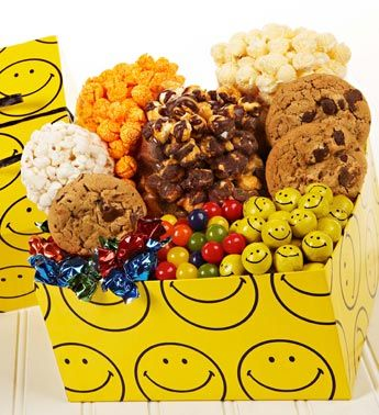 Smiley Face Sampler Box