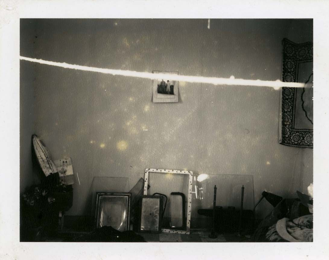 mianoti:  Robert Frank, Painkiller, an original exhibition of 48 Polaroid images taken from the 1970s through the present