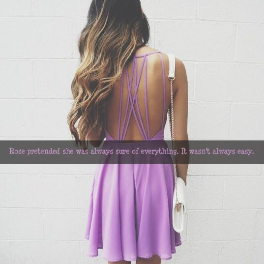 *yes but she would never wear that dress*
