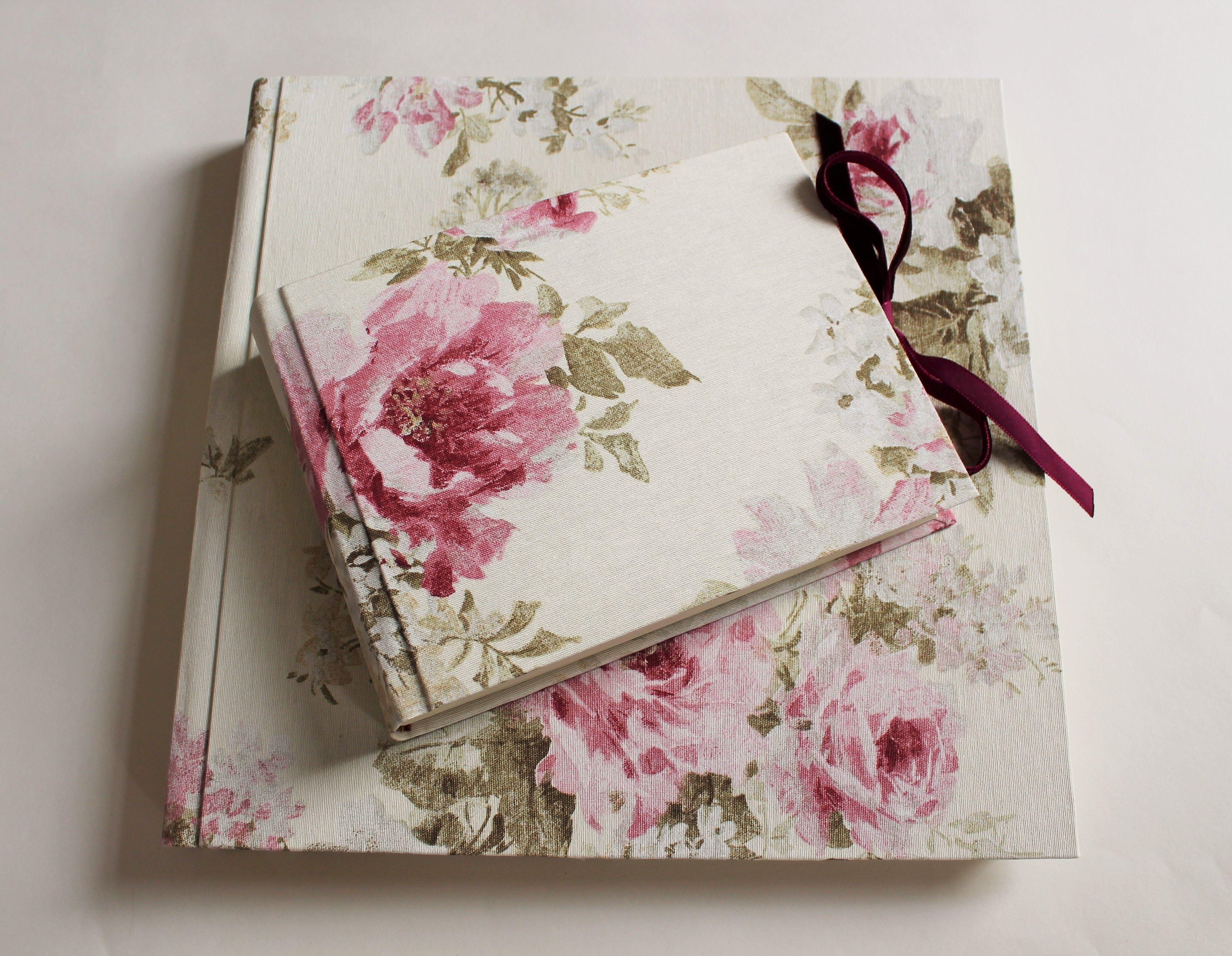 Fotoalbum aus Stoff Rosen Album Roses